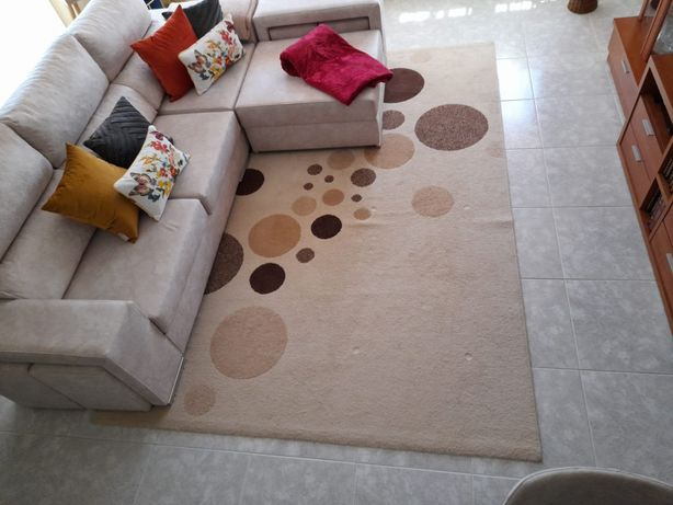 Carpete tamanho grande