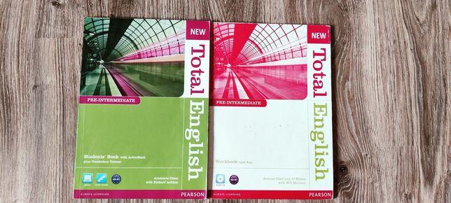 New Total English pre-intermediate Pearson