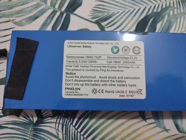 bateria para trotinete ou projectos