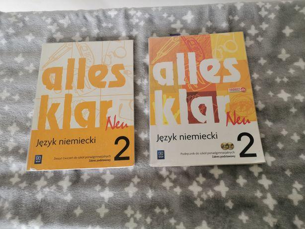 Podręcznik + ćwiczenia do języka niemieckiego