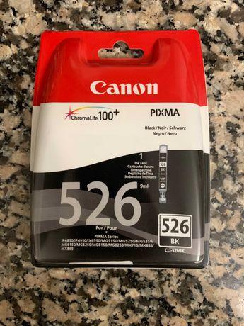 Tinteiro Original Canon Preto 526 BK (NOVO)
