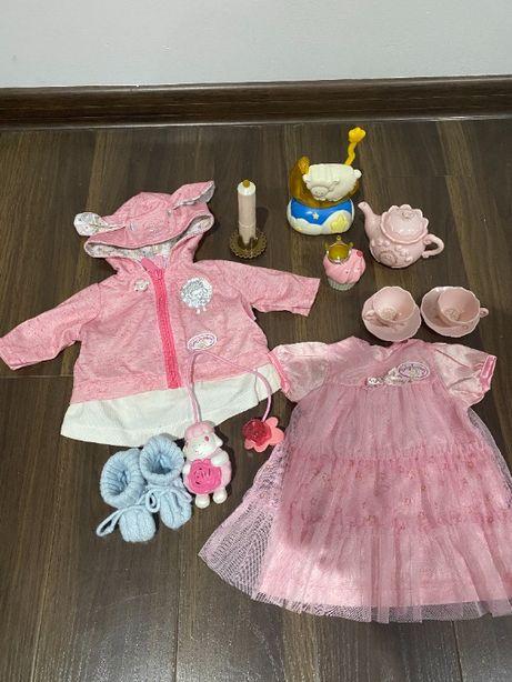 Ubranka i akcesoria Zapf Creation dla lalki Baby Annabell-zestaw