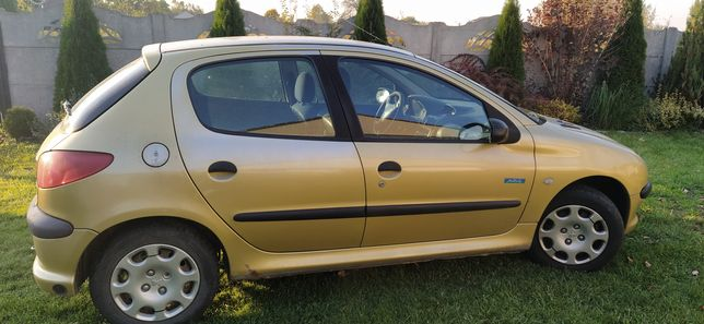 Peugeot 206 Mistral 1.4 Benzyna+LPG  2004r.