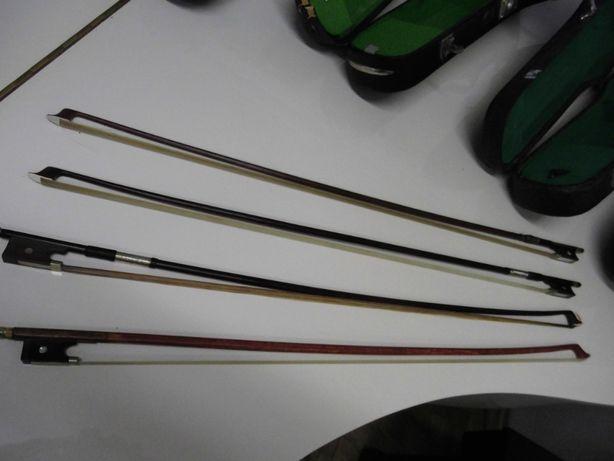 Smyczki futerał ze Szwecji sprawne skrzypce lutnicze