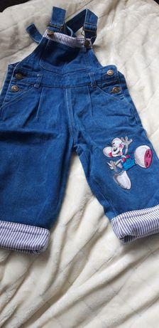 Комбезон джинсовый на 3-7лет (70 см +регулируется )