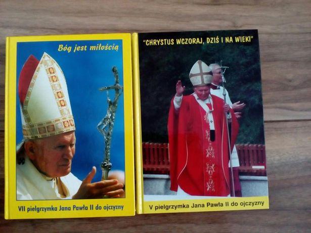 Książki Jan Paweł II V i VII pielgrzymka do ojczyzny