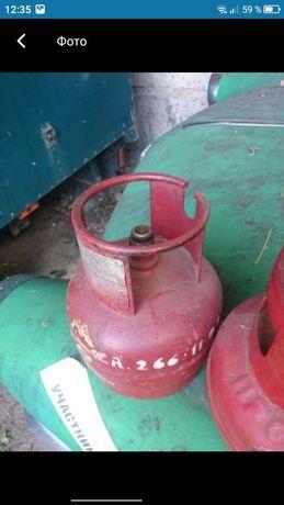 Заправка газовых баллонов с клапаном