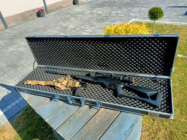 Wiatrówka Crosman pistolet Browning osprzęt walizka na DJI Mavic mini