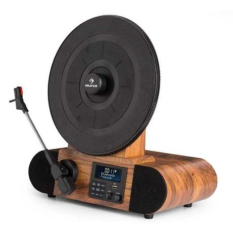 Gramofon w stylu retro Auna