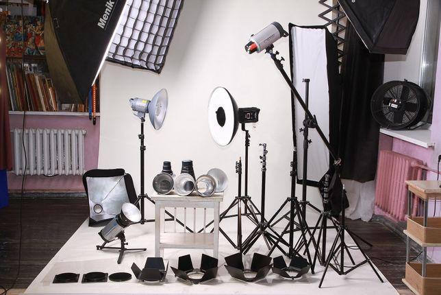 Прокат аренда фототехники, фотоаппаратов, объективов, студийного света