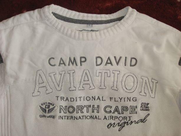 CAMP DAVID Męski sweter L