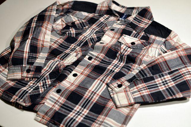 Koszula dziecięca długi rękaw, 5-10-15 rozmiar 104
