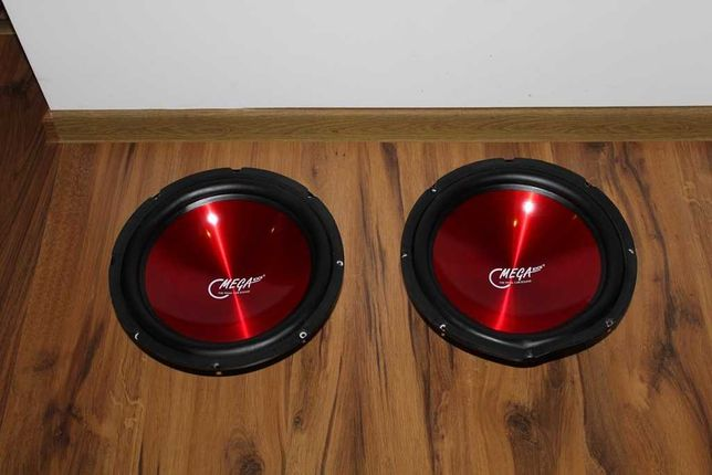 OMEGA KICK Potężne głośniki śr. 30 cm 500 W Car audio 2 sztuki Wysyłka