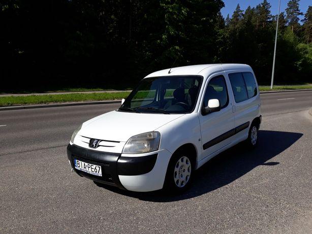Praktyczny Peugeot Partner Berlingo  Krajowy Bezwypadkowy Klimatyzacja