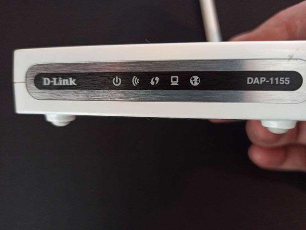 Продам рабочий WIFI роутер DAP LINK 1155 с блоком питания.
