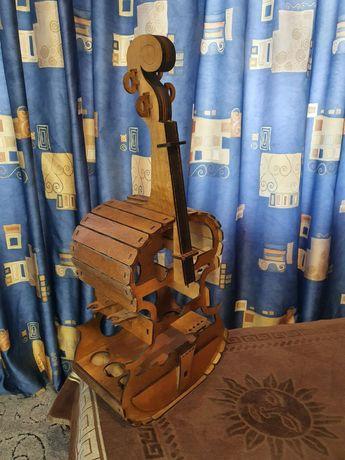 Мини-бар скрипка  Woodenirs