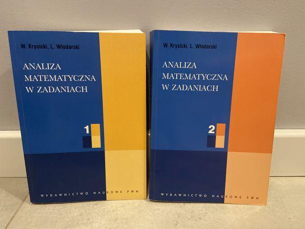 Książki komplet.analiza matematyczna w zadaniach