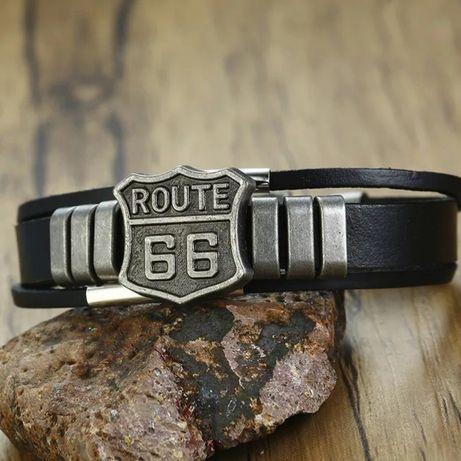 "Bransoletka motocyklowa "" Route 66 """