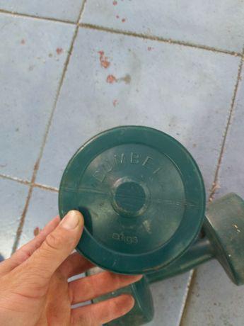 Halteres plásticos 5kg