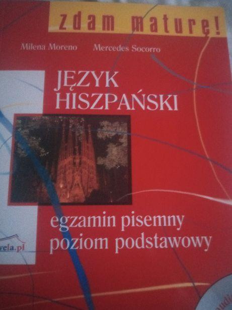 Okazja!!! Zdam maturę Język hiszpański egzamin pisemny + płyta CD
