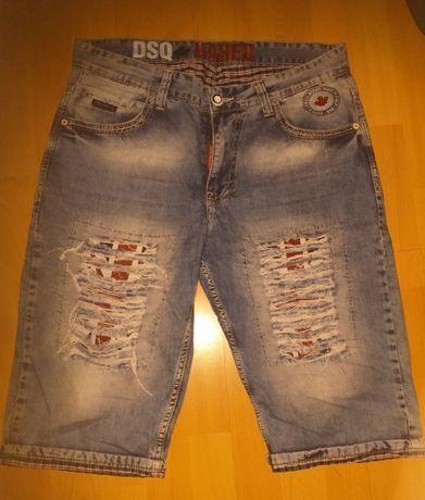 Spodenki jeans męskie roz XL/ XXL , roz. 34 * Desquare 2