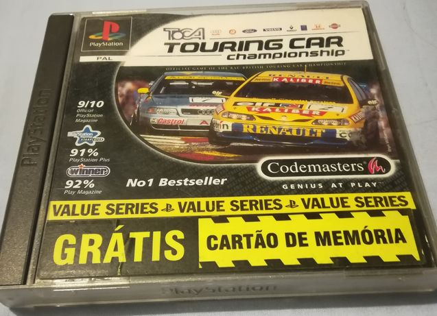 Toca Touring Car Playstation 1 Completo