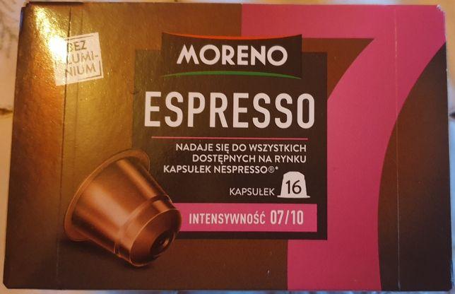 Kapsułki do expresów nespresso 16 sztuk intensywność 7/10 z niemiec