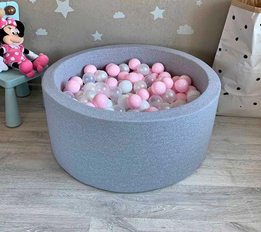 Детский мягкий сухой бассейн с шариками. Оплата при получении.