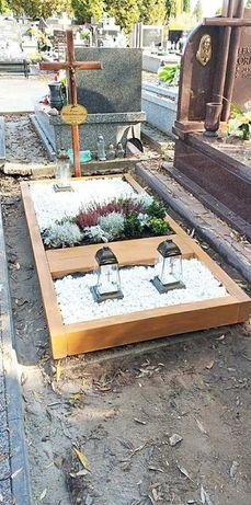 Obudowy grobu,obrzeże nagrobne, nagrobek tymczasowy