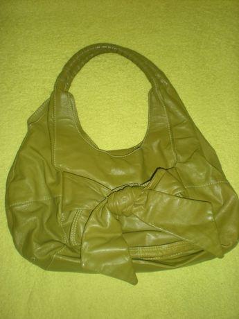 Urocza torba z kokardą, do ręki lub na ramię