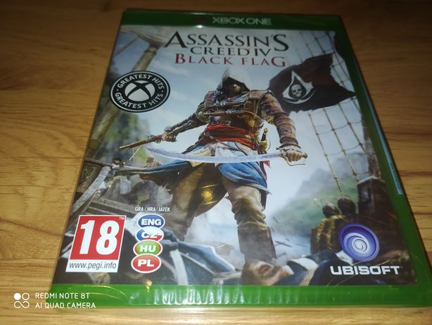 Assassins creed black flag pl xbox one/series x nowa folia