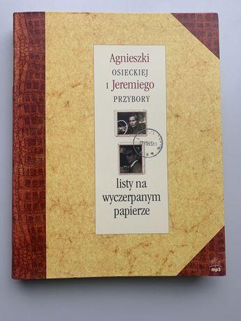 Listy na wyczerpanym papierze - Osiecka i Przybora unikat! ideał!