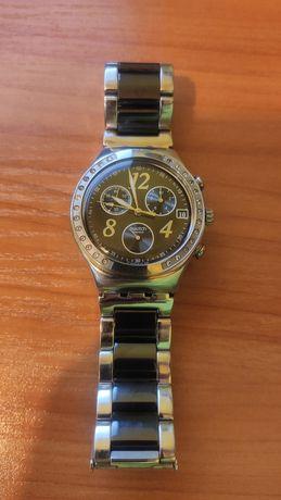 Швейцарський годинник Swatch Іrony з хронографом оригінал