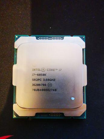 Processador INTEL 6850K Lga2011 v3 X99