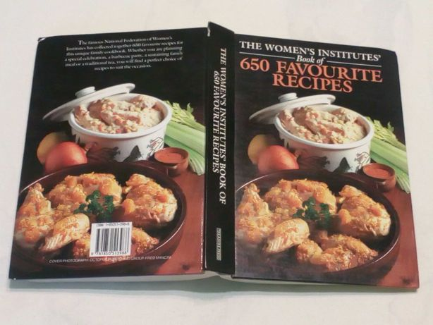 рецепти на англ.  - Book of  650 Favourite Recipes 1991 р.