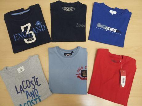 Camisolas da marca Lacoste Hugo boss Metro kids Lois 6 anos