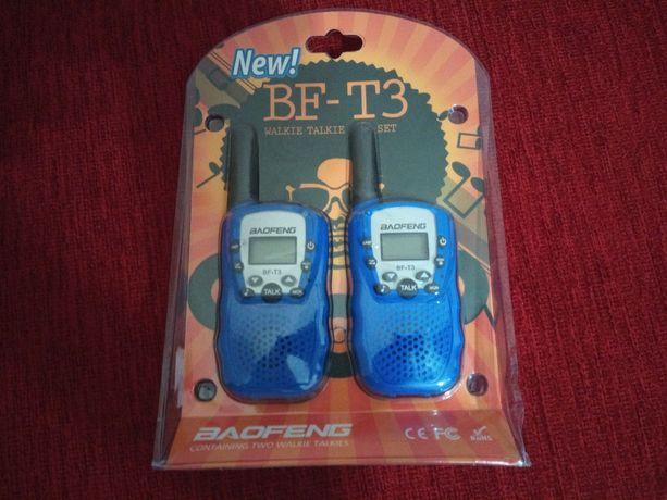 Маленькие по размерам рации Baofeng BF-T3