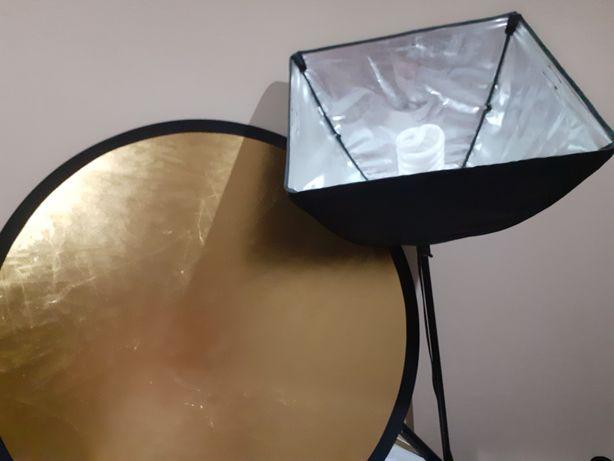 Zestaw fotograficzny 2 lampy zamiast 3(trzecia przepadla:)