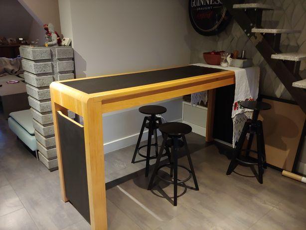 Stół do jadalni baru kawiarni wysoki pod hokery