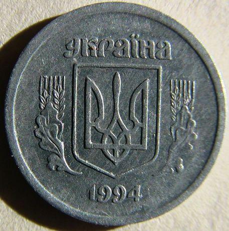 Украина 2 Копейки Алюминий. брак