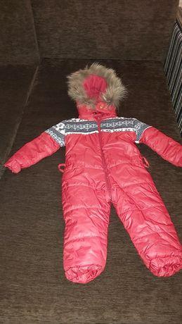 Продам теплий дитячий  демисизонний одяг  до 1 року