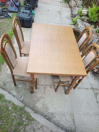 Stół i 4 krzesła kpl