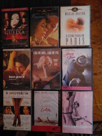 Cinema Erótico em DVD Original com legendas em Português