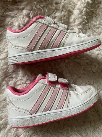 Оригинальные кеды для девочки adidas