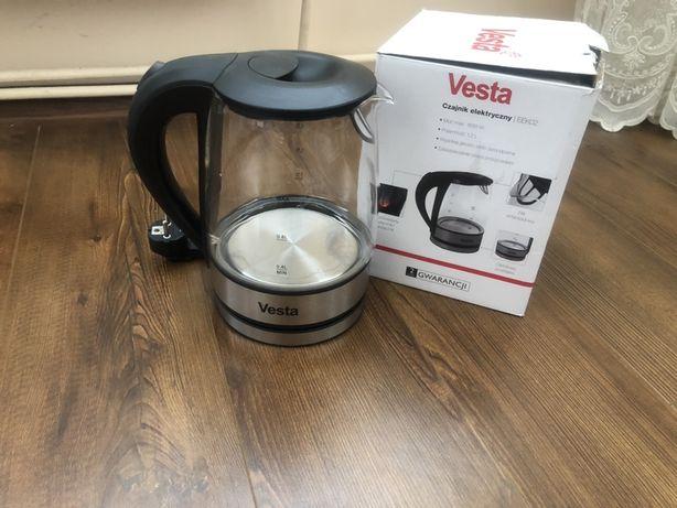 Стекляный электрочайник Vesta EEK02 чайник тефал