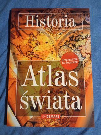 Atlas świata - Historia. Demart