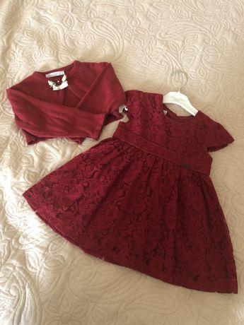 Нарядное платье Monna Rosa MILANO 1-1/5 года