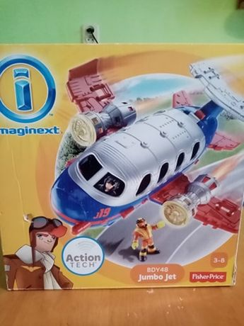 Jumbo Jet Imaginext firmy Fisher-price