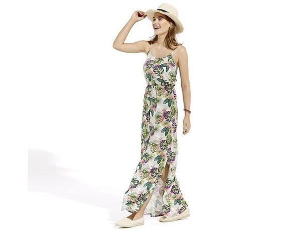 Платье летнее Esmara, длинное в пол. Размер 32/34