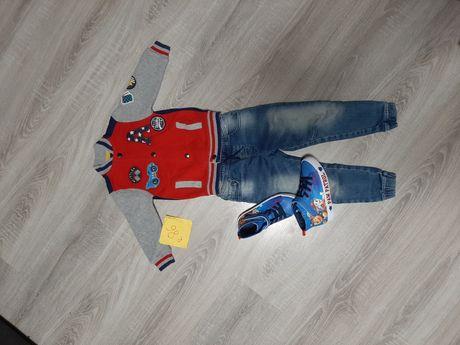 Bluza chlopiec r 86-92